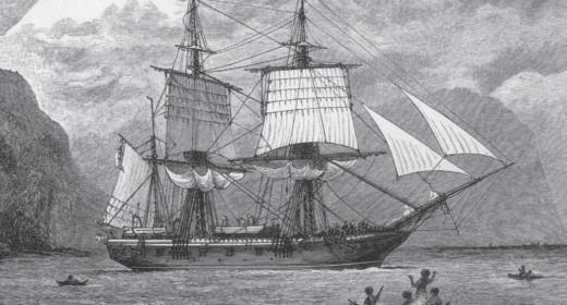 HMS Beagle Darwins ship 1832