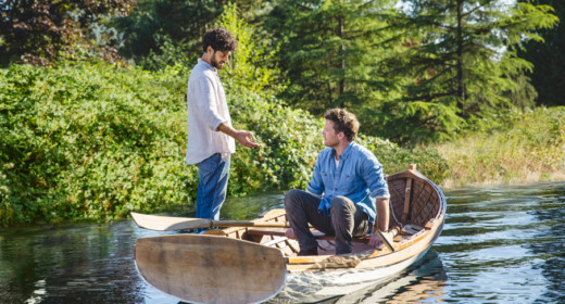Image from the Shack movie showing the boat