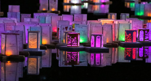 photo of the lanterns at a lantern festival