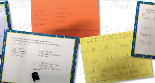 letters by the pupils